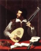 le joueur de théorbe (vers 1600)