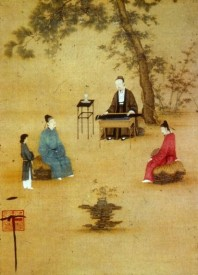 Zhao, Ji (1082-1135) - Listening to the lute