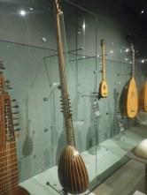 divers instruments de la famille des luths
