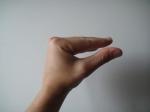 Flexion de l'articulation métacarpo-phalangienne grâce à la musculature intrinsèque, située dans la main