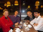Brigitte, avec Arnaud Dumond et Anthony chudeau, en novembre 2011